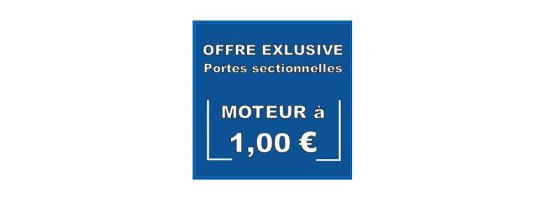 Offre exclusive PORTES SECTIONNELLES