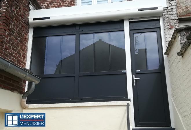 Fenêtre PVC Gris anthracite – RONCHIN